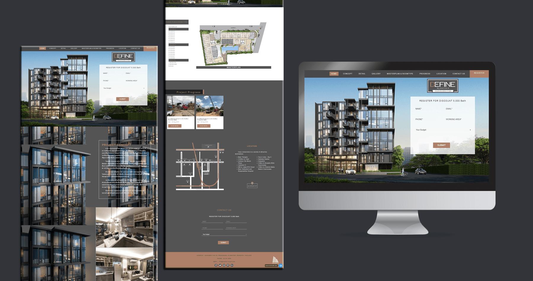 Real Estate Web Design | เคล็ดลับการออกแบบเว็บไซต์